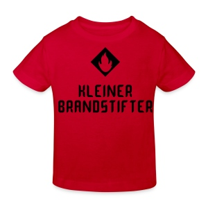 Kindershirt Kleiner Brandstifter - Kinder Bio-T-Shirt