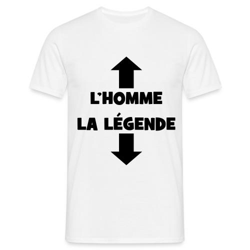 Tee-Shirt homme - La légende - T-shirt Homme