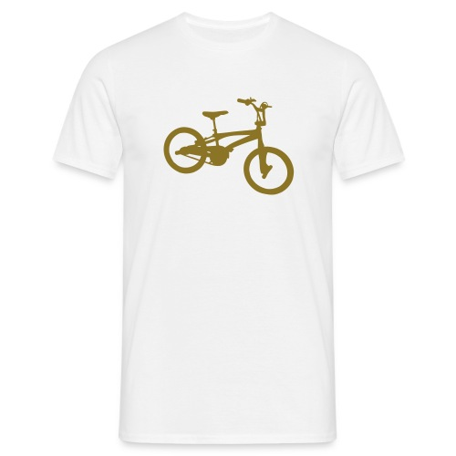 BMXER Tee (White) Mens - Men's T-Shirt