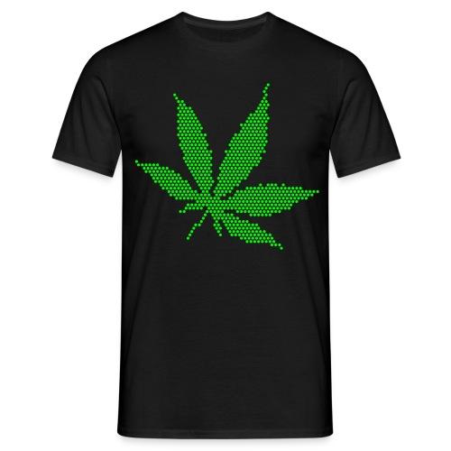 K.M.C. T-shirt Weed - Herre-T-shirt