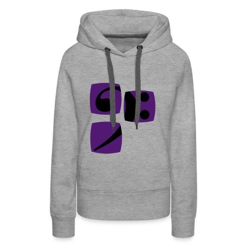 Pulli1 für Frauen - Frauen Premium Hoodie