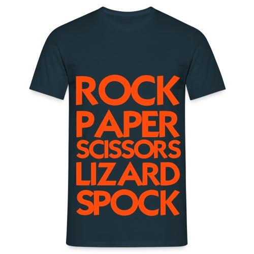 R.P.S.L.S orange  - Men's T-Shirt