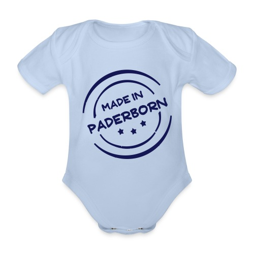 Made in Paderborn  - Baby Bio-Kurzarm-Body