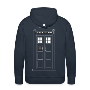 Police Call Box  - Men's Premium Hoodie