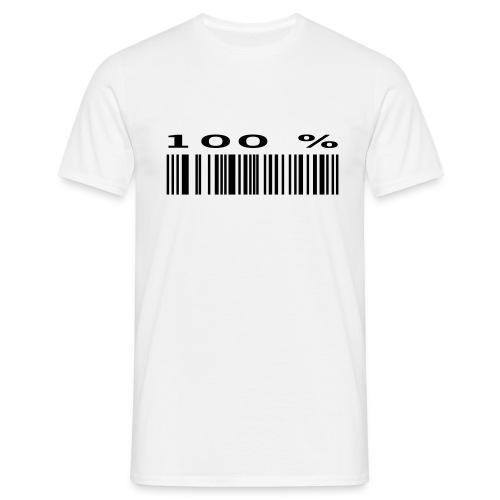 100% Barcode - Men's T-Shirt