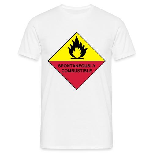 Spontaneous Combustion - Men's T-Shirt