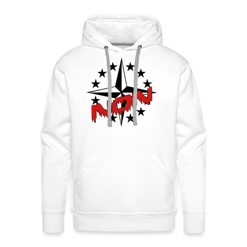 SWEAT à capuche homme non OTAN 01 - Sweat-shirt à capuche Premium pour hommes