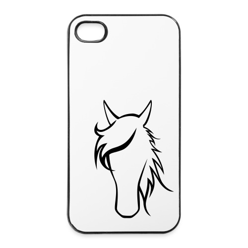 Mein Pferd, mein Handy.... - iPhone 4/4s Hard Case