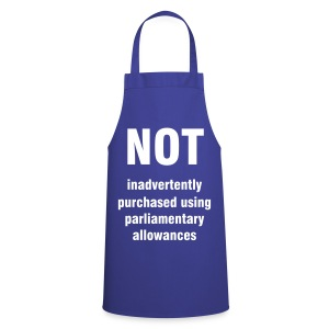 Parliamentary allowance cooking apron - Cooking Apron