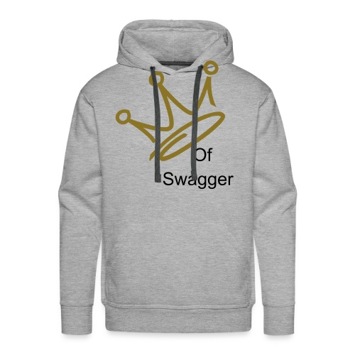 King Of Swagger - Men's Premium Hoodie