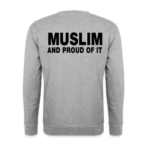 muslim and proud of it - Mannen sweater