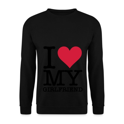 i love my girlfriend - Mannen sweater