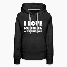 I Love Running... When I'm Done Hoodies & Sweatshirts