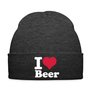 I Love Beer Beanie - Wintermütze