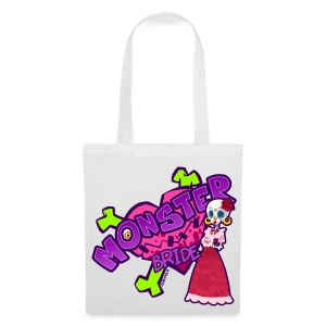 Mrs. Sugarskull bag - Stoffbeutel