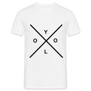 YOU ONLY LIVE ONCE - Männer T-Shirt