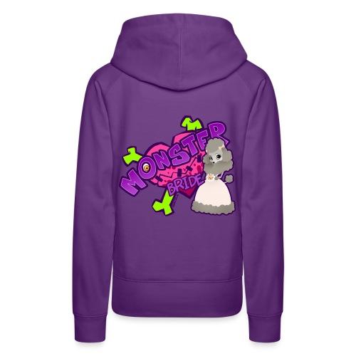 Mrs. Woofy girl hoodie - Frauen Premium Hoodie
