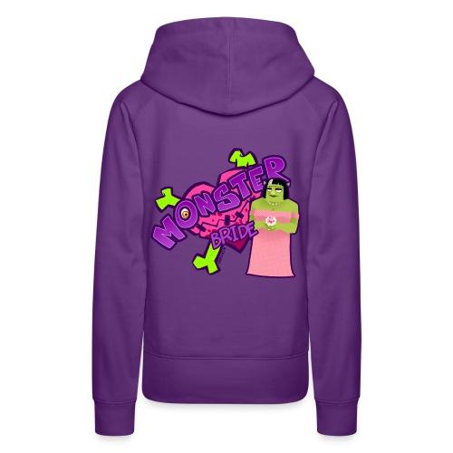 Mrs. Frankenstein girl hoodie - Frauen Premium Hoodie