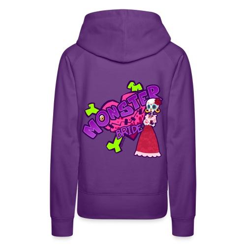 Mrs. Sugarskull girl hoodie - Frauen Premium Hoodie