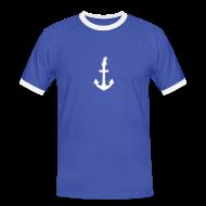 T-Shirts ~ Männer Kontrast-T-Shirt ~ Blueswerft