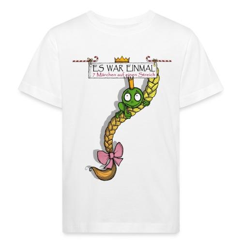 ES WAR EINMAL ... – Frosch & Rapunzel - Kinder Bio-T-Shirt