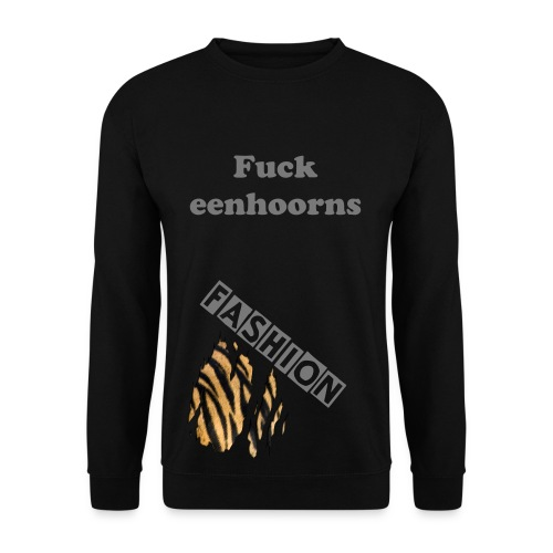 Sweather F*ck eenhoorns/Fashion (M) - Mannen sweater