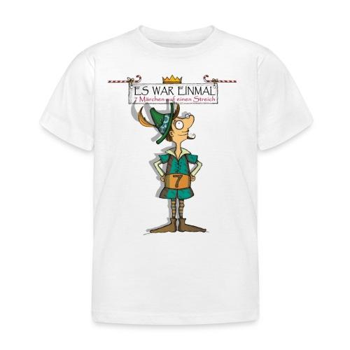 ES WAR EINMAL ... – Schneiderlein - Kinder T-Shirt