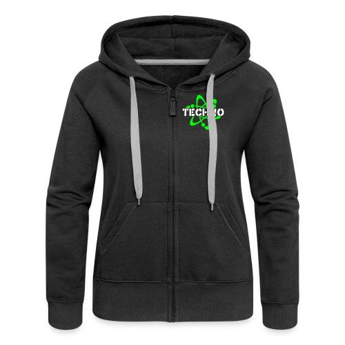 E-toxx/ Girls-Hoody - Frauen Premium Kapuzenjacke