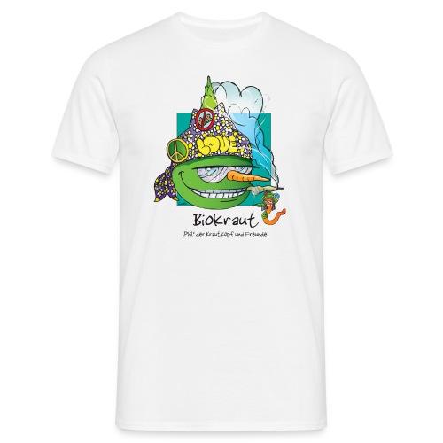 Biokraut - Mens - White - Männer T-Shirt