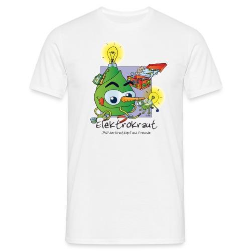 Elektrokraut - Mens - White - Männer T-Shirt