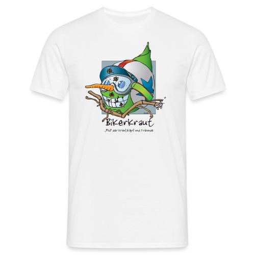 Bikerkraut - Mens - White - Männer T-Shirt