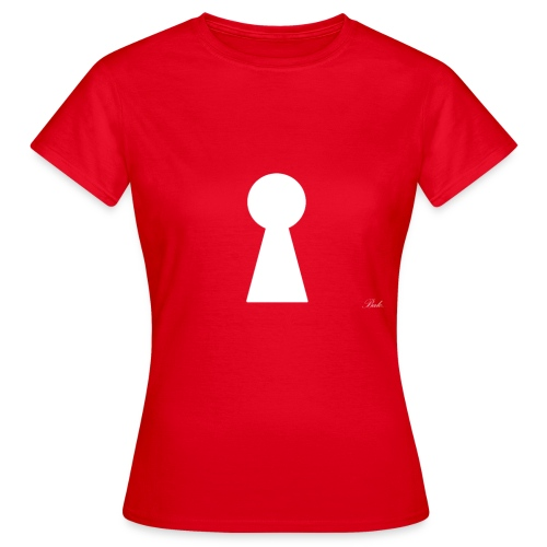 Key (White) - Women's T-Shirt