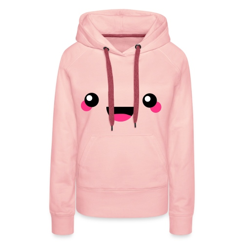 Smiley face - Women's Premium Hoodie