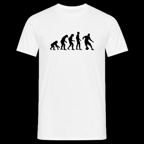 T-Shirt Soccer-Evolution - freie Farbwahl - Männer T-Shirt