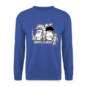 Winterhäuptling und Winterbaron - Männer Pullover