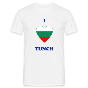 I Love Tunch - Men's T-Shirt