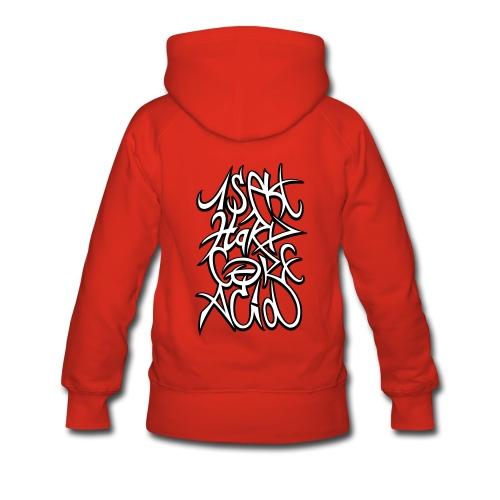 1sekt_HxC_Acid - Sweat-shirt à capuche Premium pour femmes