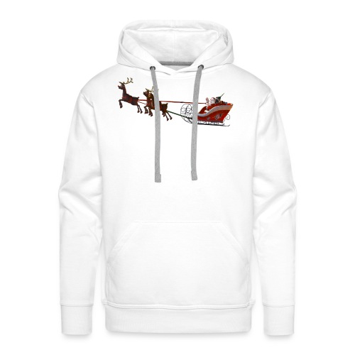 Santa Claus is coming - Männer Premium Hoodie