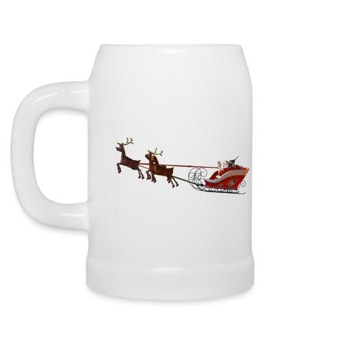 Santa Claus is coming - Bierkrug