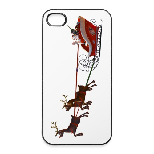 Santa Claus is coming - iPhone 4/4s Hard Case