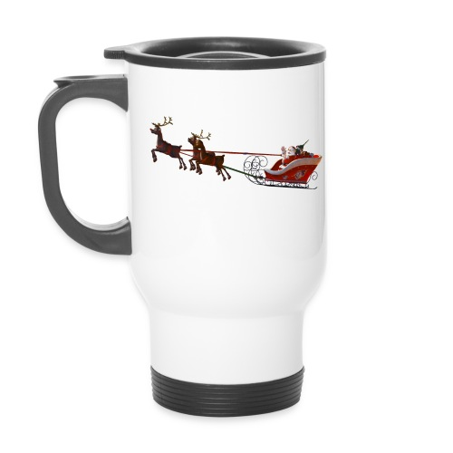 Santa Claus is coming - Thermobecher