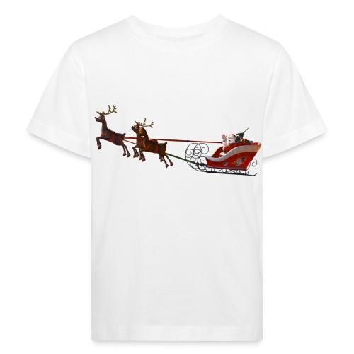 Santa Claus is coming - Kinder Bio-T-Shirt
