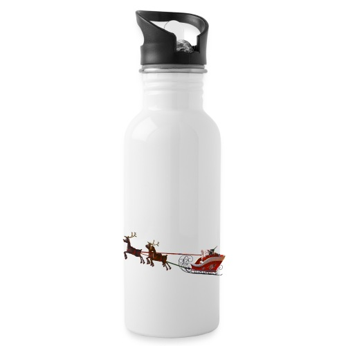 Santa Claus is coming - Trinkflasche
