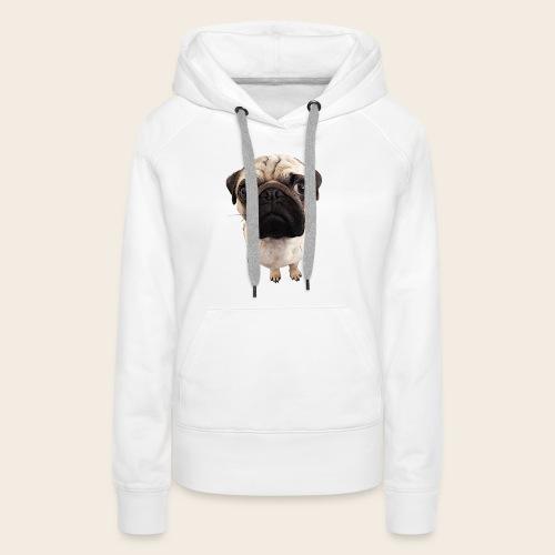 Mops Kapuzenpullover - Frauen Premium Hoodie
