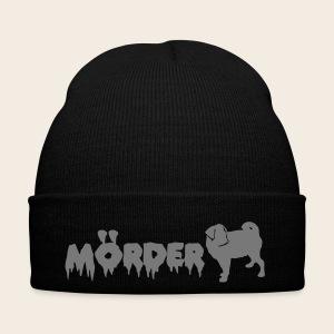 Mörder Mops Mütze - Wintermütze