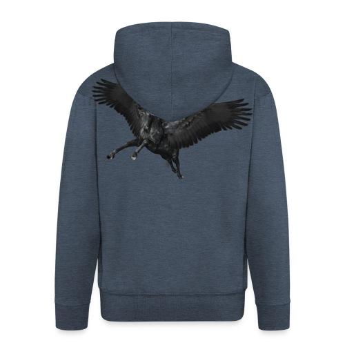 black Pegasus - Männer Premium Kapuzenjacke