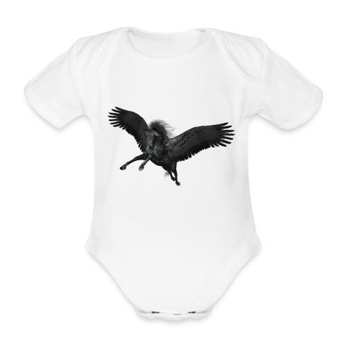 black Pegasus - Baby Bio-Kurzarm-Body