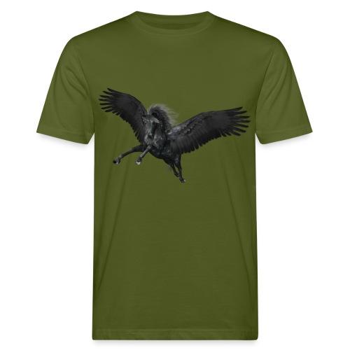 black Pegasus - Männer Bio-T-Shirt