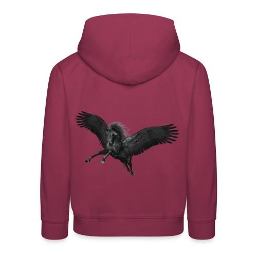 black Pegasus - Kinder Premium Hoodie