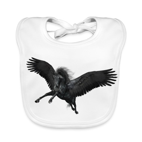 black Pegasus - Baby Bio-Lätzchen